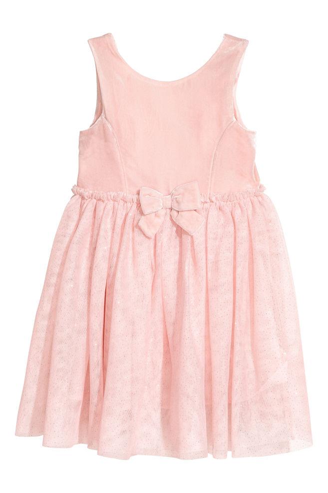 Tulle dress - Light pink - Kids | H&M GB