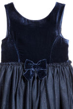 Tulle dress - Dark blue - Kids | H&M CN 3