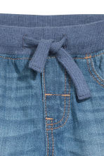 Denim pull-on trousers - Blue - Kids | H&M 3