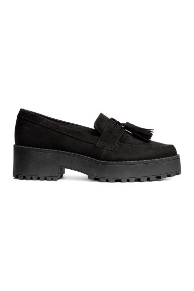Platform loafers - Black - Ladies | H&M CN