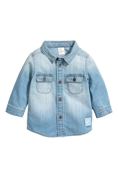 Denim shirt - Light blue - Kids | H&M