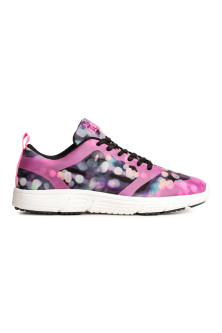 Patterned High Sneakers