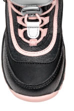 Waterproof boots - Black marl/Light pink - Kids | H&M CN 3