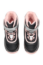 Waterproof boots - Black marl/Light pink - Kids | H&M CN 2
