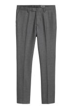 Pantalon de costume Slim fit - Gris chiné - HOMME | H&M FR 2