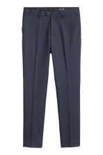 Suit trousers Slim fit - Blue marl - Men | H&M 2