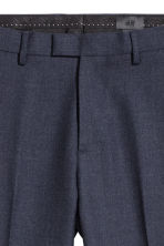 Suit trousers Slim fit - Blue marl - Men | H&M 4