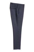 Suit trousers Slim fit - Blue marl - Men | H&M 3