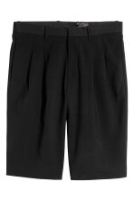 Knee-length shorts - Black - Men | H&M 2