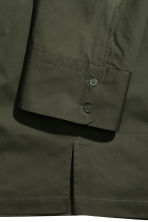 Utility shirt - Dark khaki green - Men | H&M 3