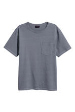 Wijd T-shirt - Grijsblauw - HEREN | H&M BE 1