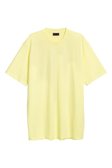 Oversized t-shirt - Gul - Men | H&M FI 1