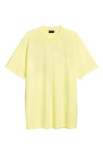 Oversized T-shirt - Yellow - Men | H&M CN 1