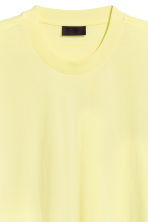 Oversized T-shirt - Yellow - Men | H&M CN 2