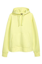 Oversized hooded top - Light yellow - Men | H&M 2
