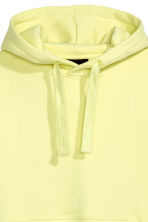 Oversized hooded top - Light yellow - Men | H&M 3