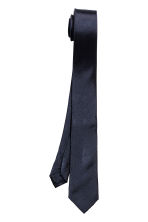 Silk tie - Dark blue - Men | H&M 2