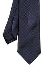 Silk tie - Dark blue - Men | H&M 3
