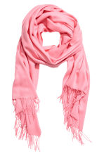Geweven sjaal - Roze - DAMES | H&M BE 1