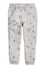 Sweatpants - Grey/Butterflies - Kids | H&M CN 2