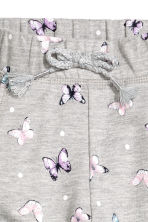 運動長褲 - Grey/Butterflies -  | H&M 3