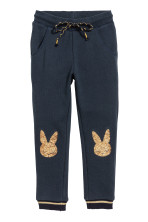 Dark blue/rabbits