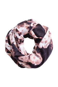 Patterned tube scarf