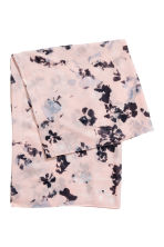Patterned Tube Scarf - Light pink/floral - Ladies | H&M CA 2