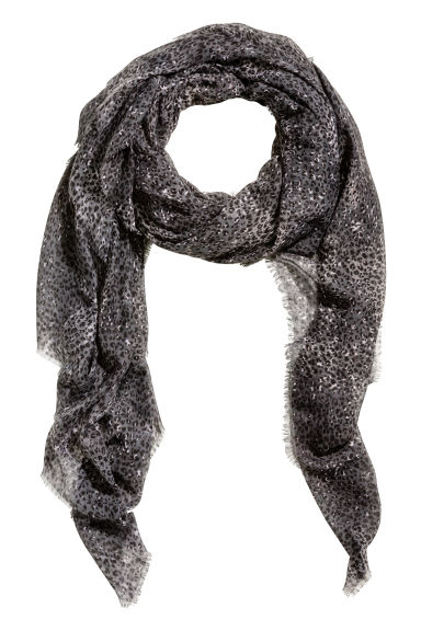 Airy Scarf - Gray - Ladies | H&M CA