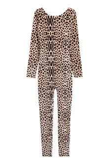 Velour leopard costume