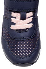 休閒鞋 - Dark blue/Spotted -  | H&M 3