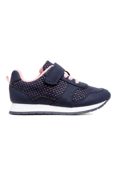 Sneakers - Dark blue/Spotted - Kids | H&M CA 1