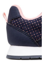 休閒鞋 - Dark blue/Spotted -  | H&M 4