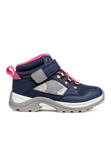 Waterproof boots - Dark blue/Pink - Kids | H&M