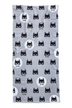 Printed bath towel - Grey/Batman - Home All | H&M IE 1
