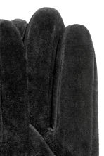 Suede Gloves - Black -  | H&M CA 2