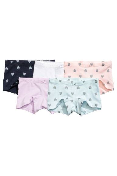 5-pack boxer briefs - Light purple - Kids | H&M CN 1