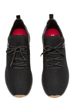 Fully-fashioned trainers - Black - Men | H&M GB 2