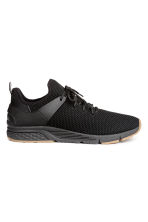 Fully-fashioned trainers - Black - Men | H&M GB 1