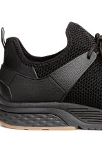 Fully-fashioned trainers - Black - Men | H&M GB 4