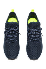 Fully-fashioned trainers - Dark blue - Men | H&M 2