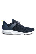 Fully-fashioned trainers - Dark blue - Men | H&M 1