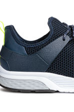 Fully-fashioned trainers - Dark blue - Men | H&M 4