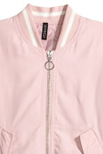Bomber jacket - Powder pink -  | H&M 3