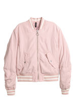 Bomber jacket - Powder pink -  | H&M 2