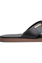 Slides - Black - Men | H&M 4