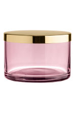 Glass pot - Pink - Home All | H&M IE 2