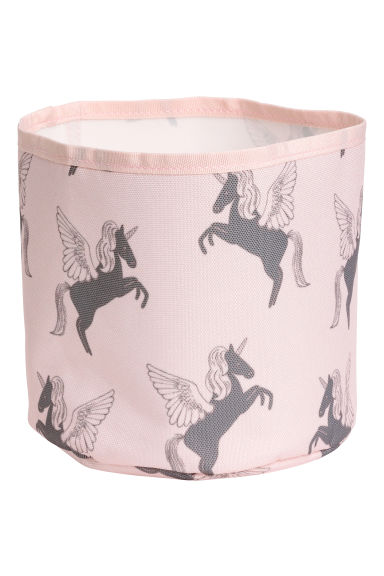 Small storage basket - Light pink/Unicorn -  | H&M CN 1