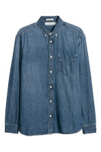 Denim shirt - Denim blue - Men | H&M IE 2