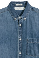Denim shirt - Denim blue - Men | H&M IE 3